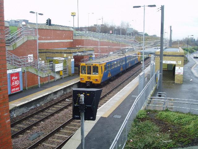 Pallion Metro Station, Sunderland