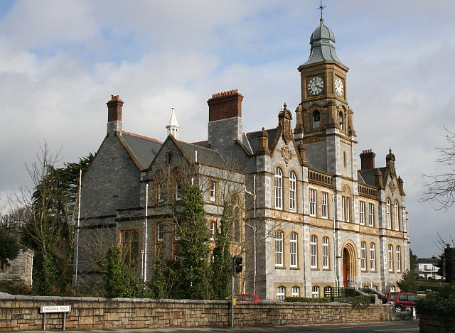 The old Devonport Technical College