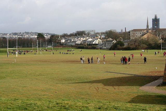 Sunday Morning Rugby on Stonehouse Creek