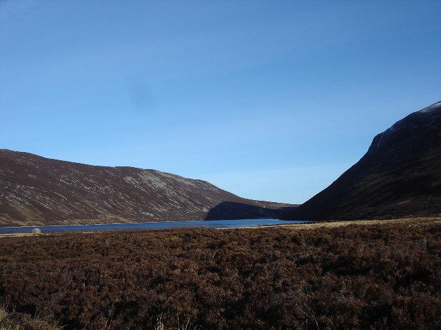 Loch Cuaich near Dalwhinnie