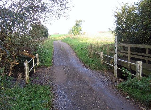 Ford on Deadman's Lane south of Stoke Ash