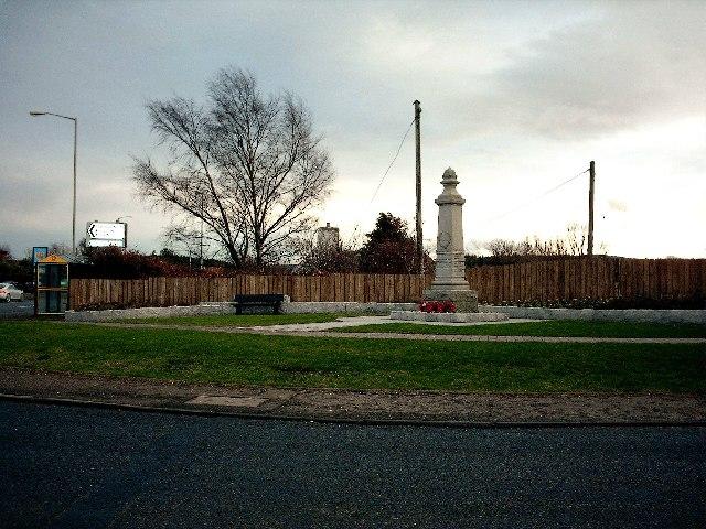 War Memorial,Mosstodloch.