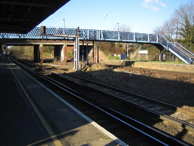 Hook railway station