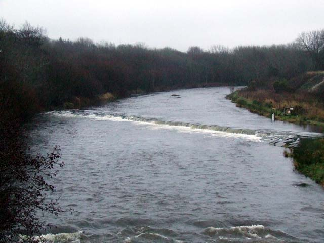 Weir on Seiont River