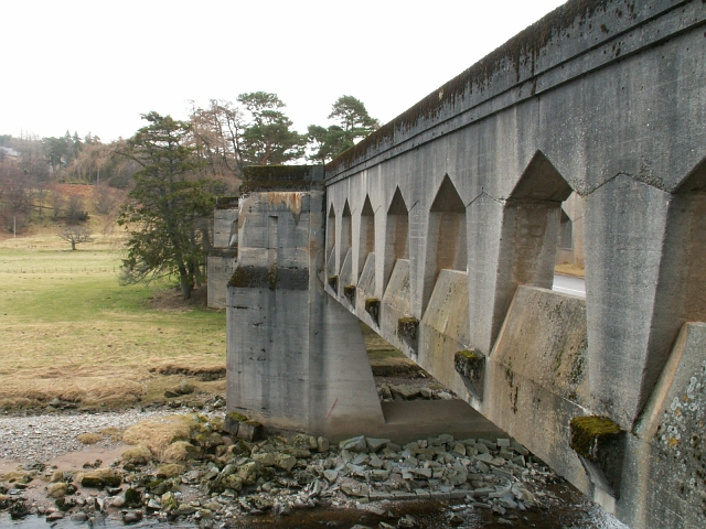 Findhorn Bridge on the old A9