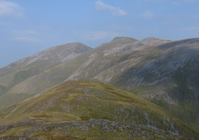NE top / ridge of An Socach