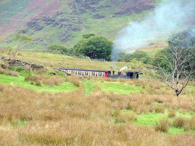 View over the Snowdon Railway