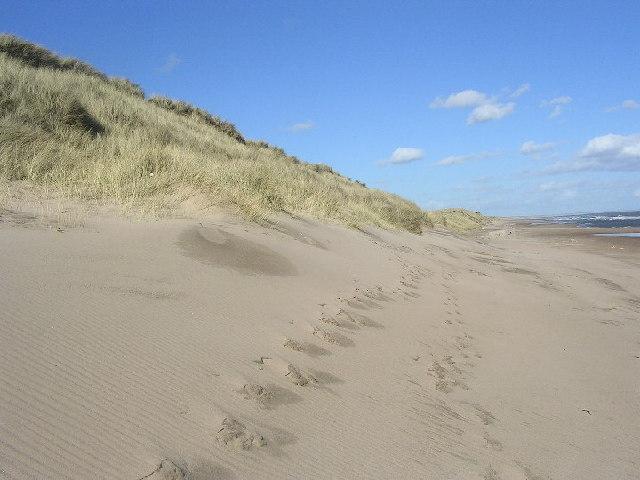 Sand dunes near Murcar