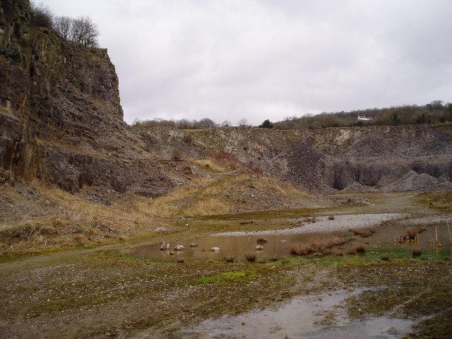 Pistyll Gwyn Quarry