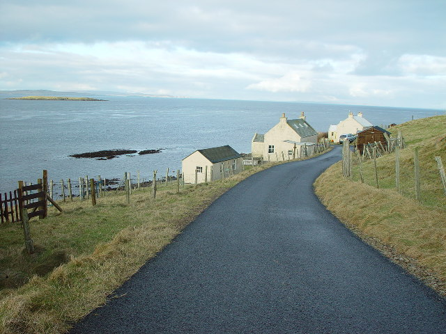 Houses at 'Booth' Marrister, Whalsay, Shetland