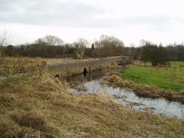 Aylestone packhorse bridge