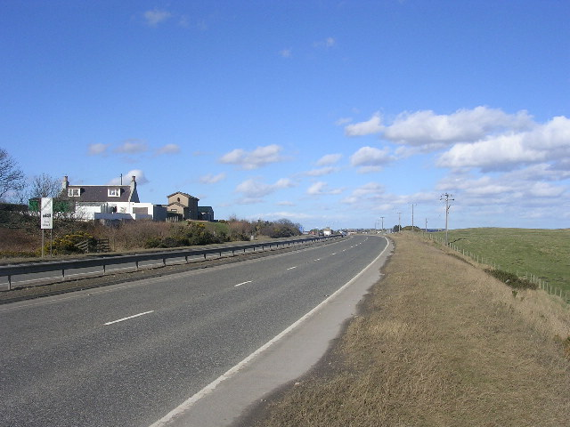 A90 Aberdeen to Peterhead Road