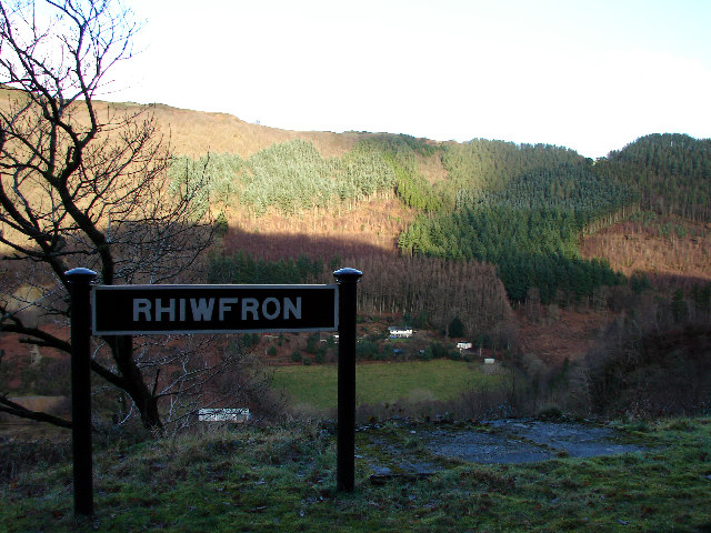 Rhiwfron Station, Vale of Rheidol Railway