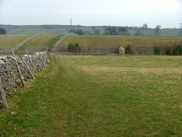 Across the fields to the Goggleby Stone