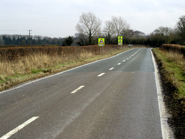 The road to Raywell