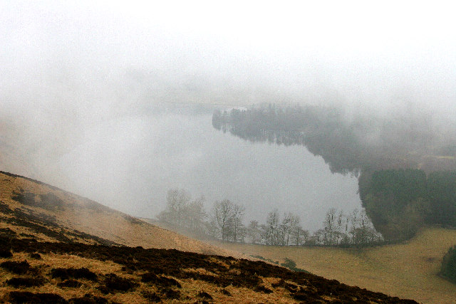Long Loch on a dreich day.