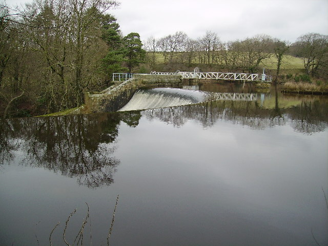 Weir at Abbeystead