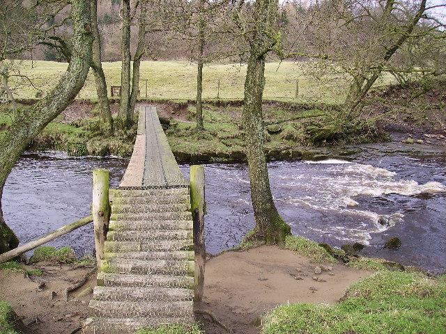 Footbridge River Wyre
