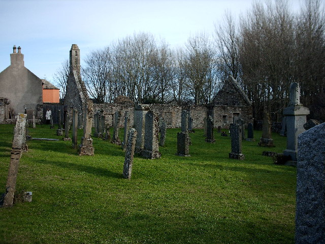 Deskford Church and Cemetery