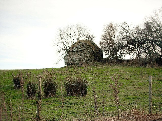 Remains of ruined Castle, Inaltry