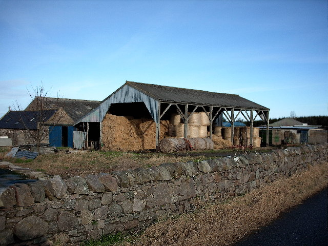 Straw store,Leitchestown Farm