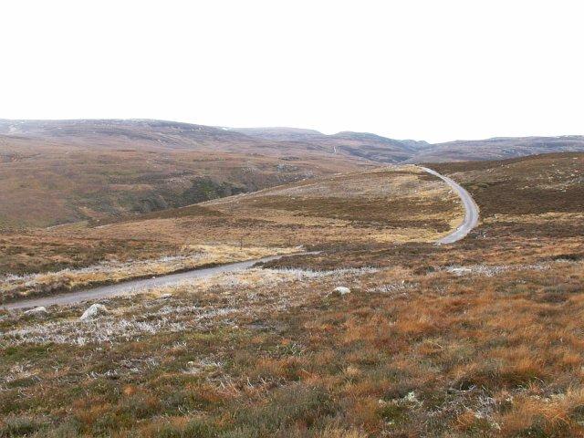 Open moorland by Carn Eitidh