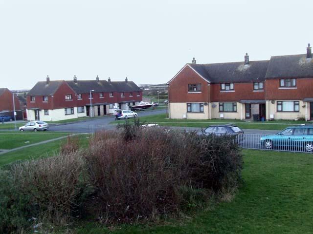 Houses at Llanfihangel yn Nhowyn