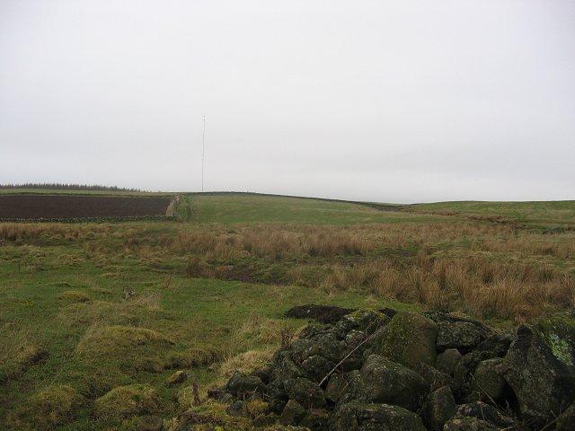 Farmland above Devon