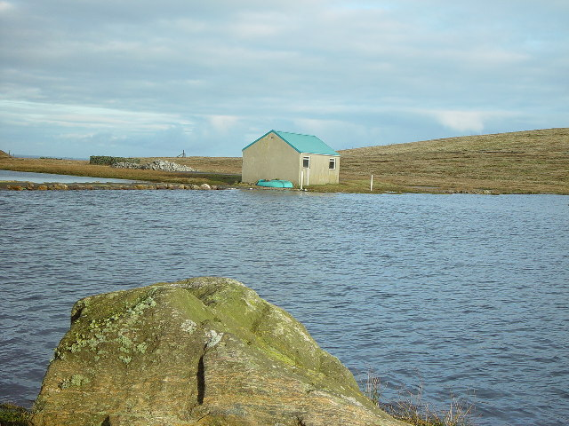 Whalsay Model Yacht Club, Loch of Houll, Whalsay