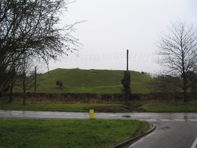 Motte, Castle Bytham