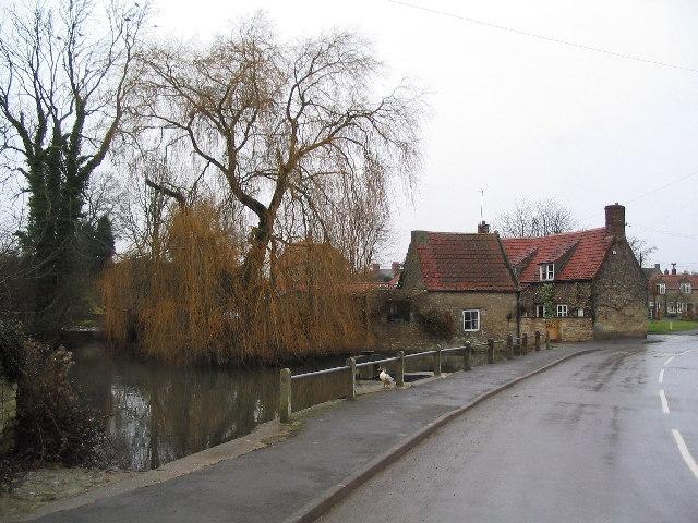 Village pond, Castle Bytham