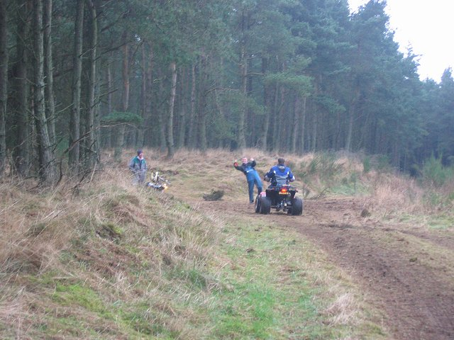 Quad bikes, Weddersbie Hill
