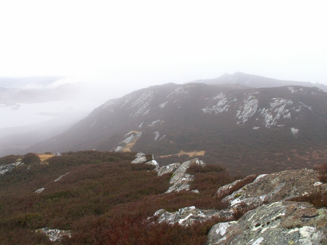 Carn an t-Suidhe, west top