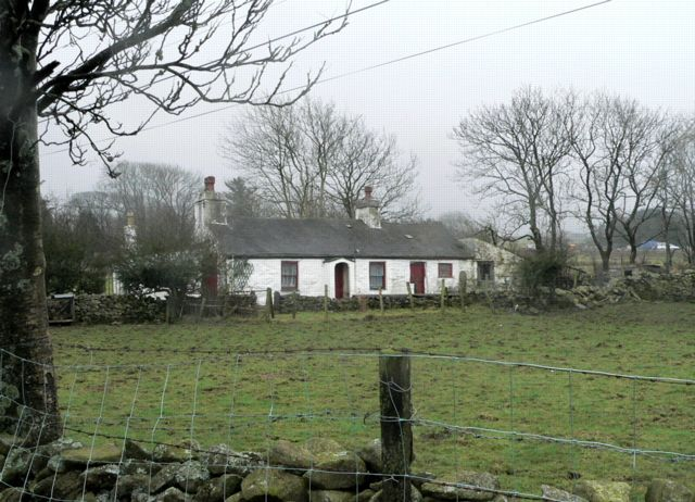 A Traditional White-washed Cottage, Ty'n Llwyn, Rhosgadfan.