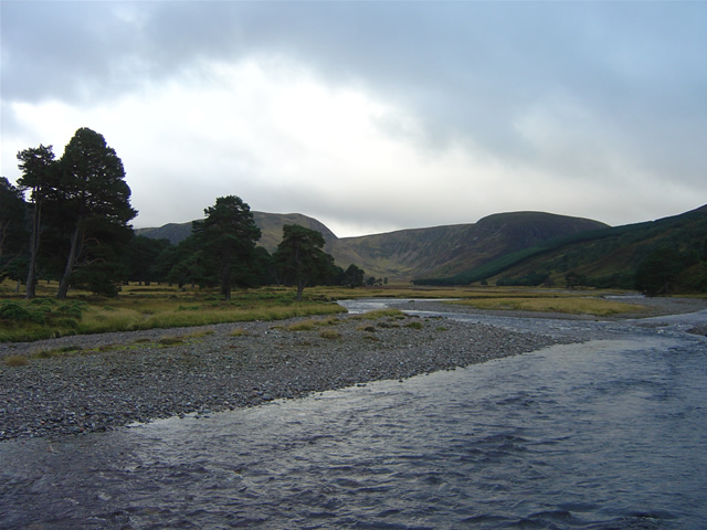 The River Feshie from Carnachuin