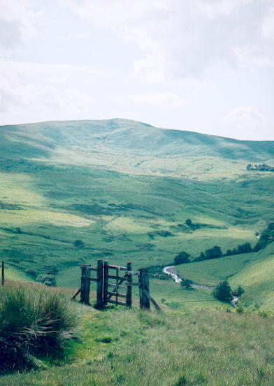 Breamish Valley Cheviot Hills
