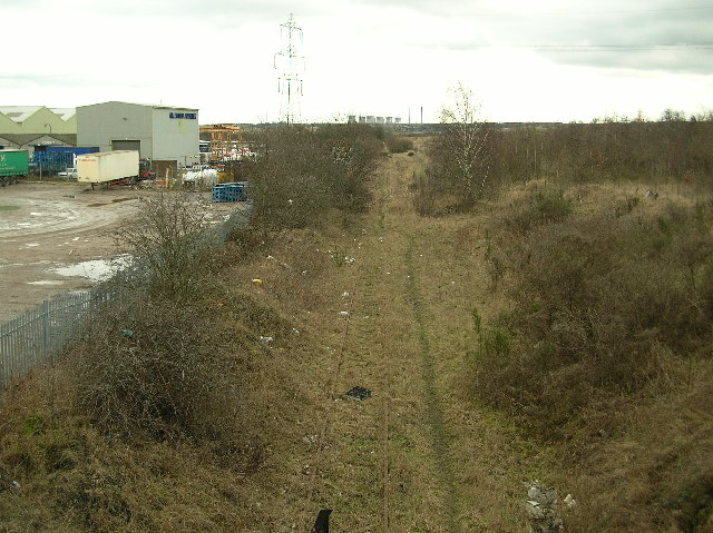 Disused railway line - Allerton Bywater