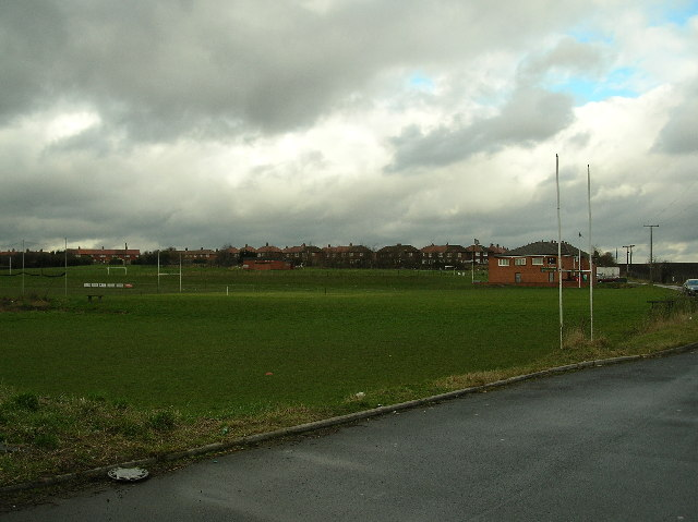 Kippax Welfare Club rugby ground