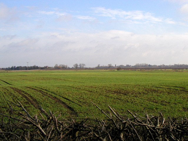 The view towards Foston