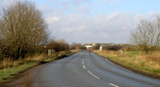 The road to Wansford