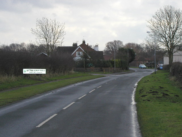 The road to Little Driffield