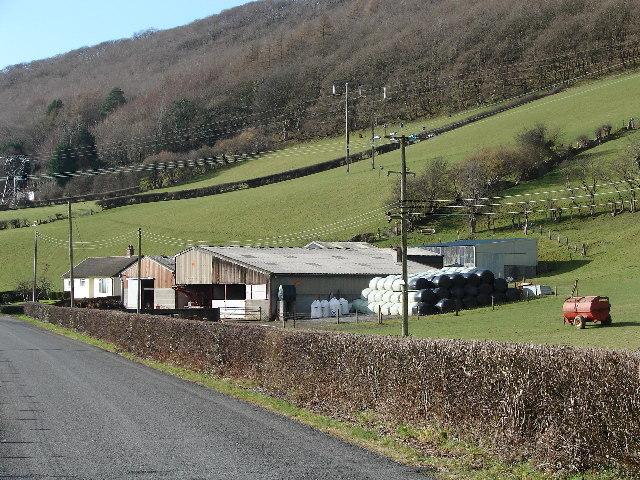 Dol-gamlyn Farm, Rheidol Valley