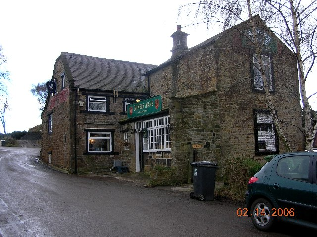 Miner's Arms at Hundall in NE Derbyshire