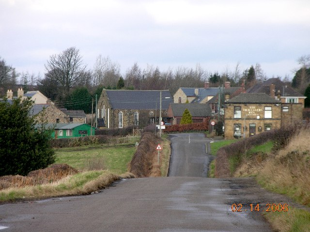 Apperknowle in NE Derbyshire