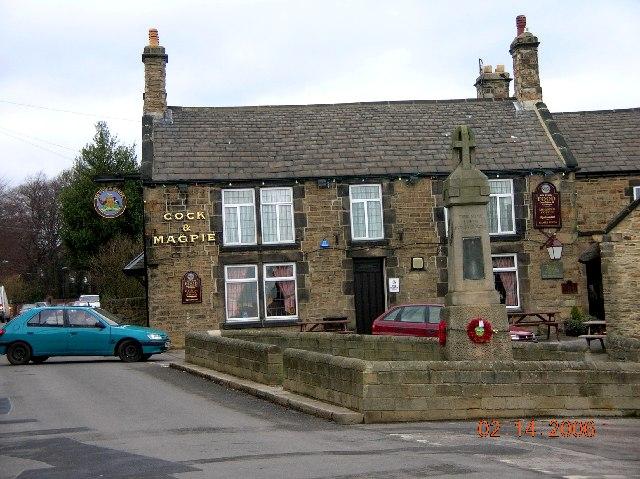 Cock & Magpie Inn, Old Whittington, Chesterfield