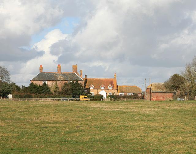 Park Farm, south of Beaulieu