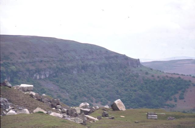 Waun Ddu Escarpment near Llangattock