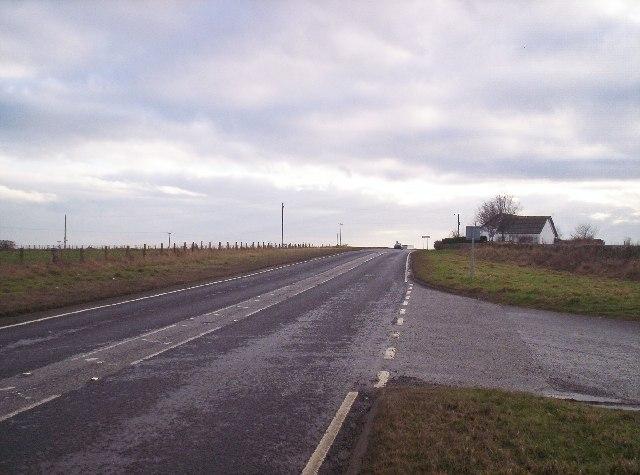 A92 Near Dunninald Castle Junction