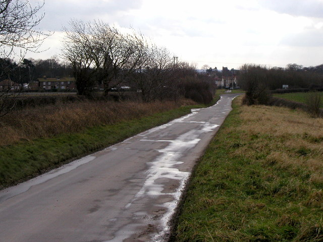 Wold Road - the road to Nafferton