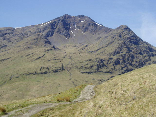 Track to Ben Lui